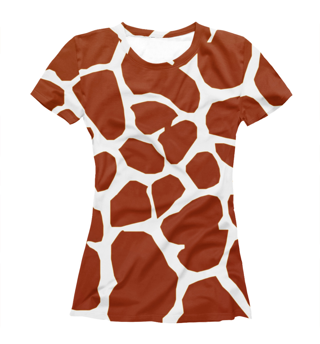 89e45873 Giraffe Skin Texture Women's T-shirt – Quantum Boutique