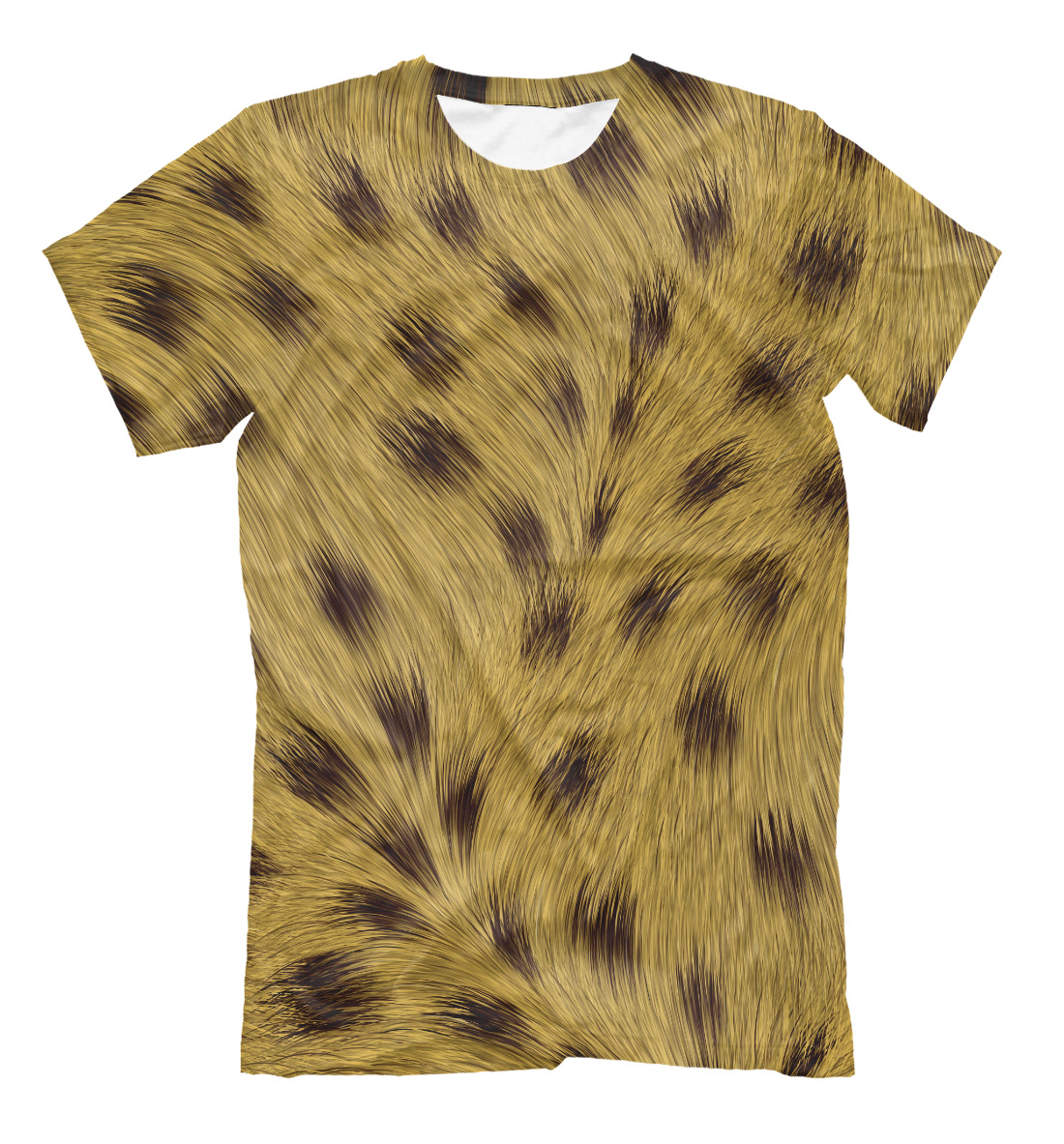 d9063c0b73f21a Leopard Wool Texture Men s T-Shirt – Quantum Boutique
