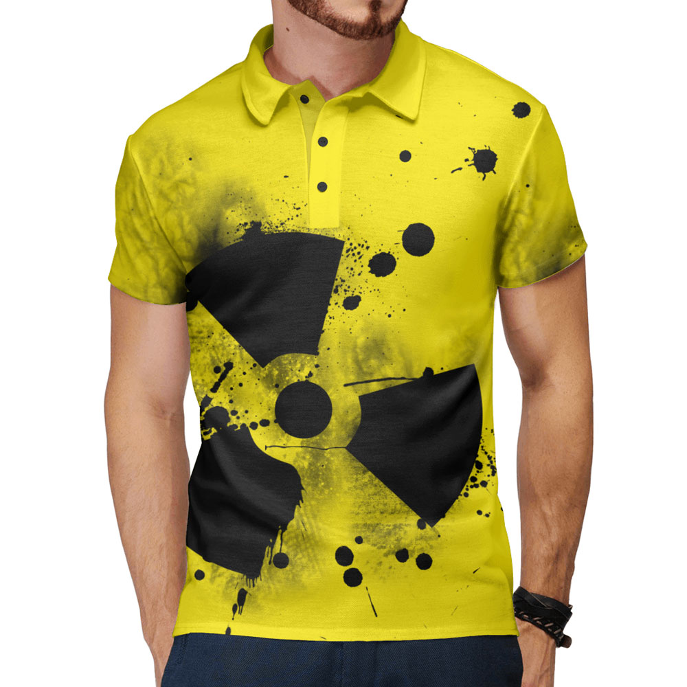 14310b42f Radiation Design Original Men's Polo Shirt – Quantum Boutique
