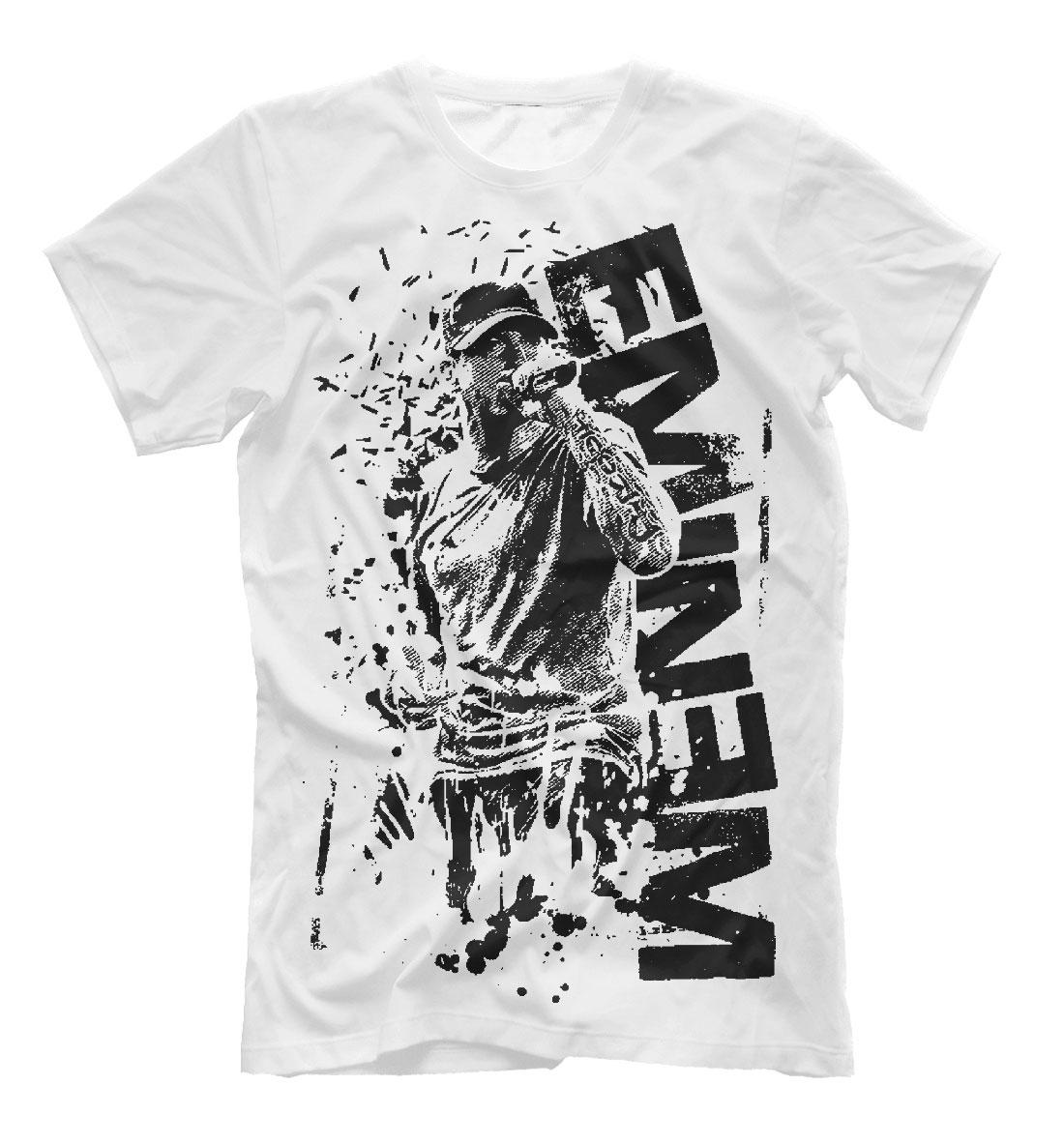 Eminem Printed Men s T-Shirt – Сlothing Store