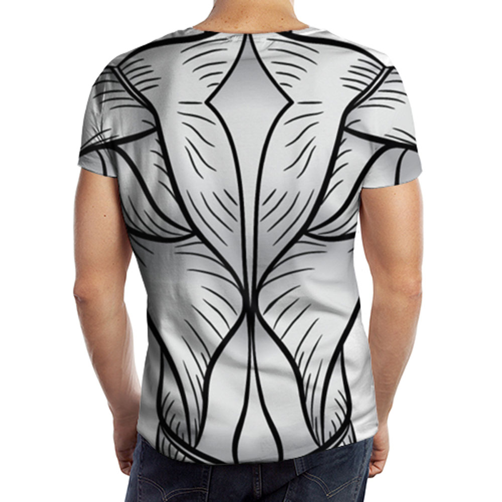 full printed men s t shirt muscle body lothing store