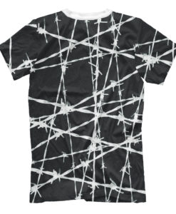 Barbed Wire Design Men s T-Shirt – Сlothing Store