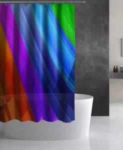 Rainbow Shower Curtain Lothing Store Quantum Boutique
