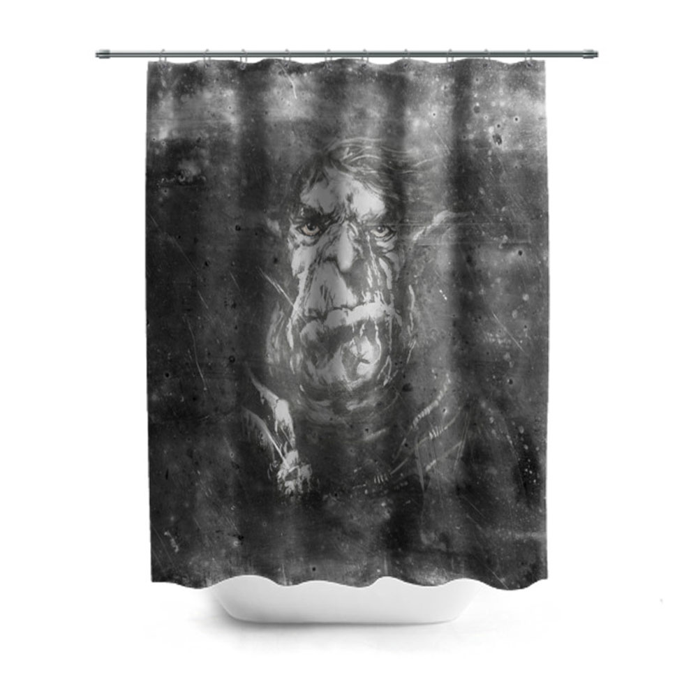 Troll Printed Shower Curtain Lothing Store Quantum Boutique