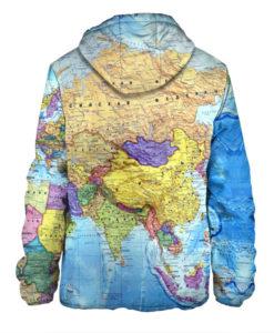 World Map 3D Print Men\'s Jacket – Quantum Boutique