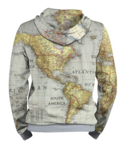 World Map Sweater.World Map 3d Printed Stylish Hoodie For Men Slothing Store